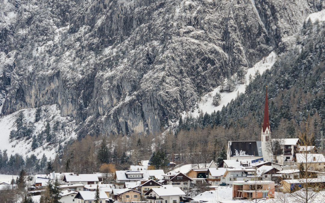 Tirol Splitter Dormitz winterlich