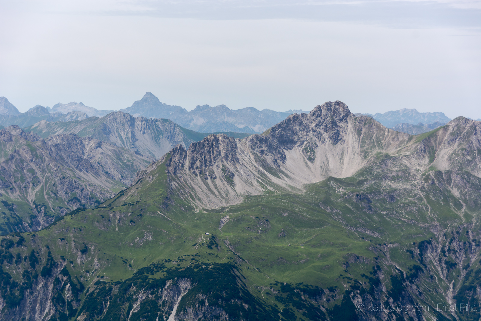 Klettersteig Nassereith : Panorama am loreakopf nassereith