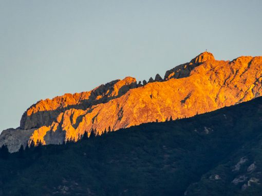 Tirol Splitter | Morgenfarben am Plateau